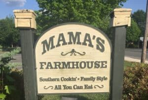 mama's farmhouse in pigeon forge
